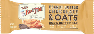Bobs Red Mill: Bar Oat Peanut Butter Chocolate, 1.76 Oz