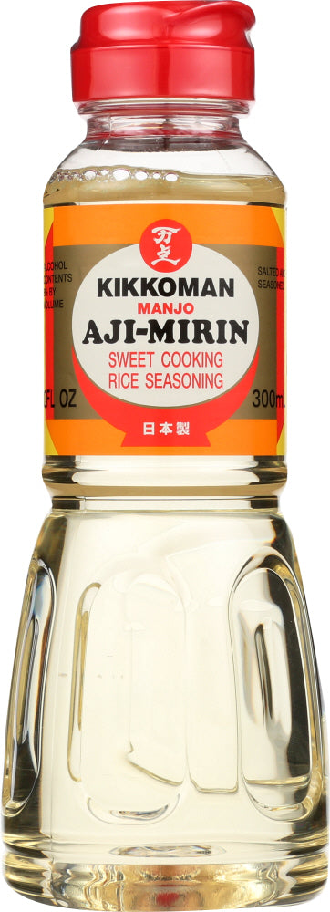 Kikkoman: Aji Mirin Sweet Cooking Rice Wine, 10 Oz