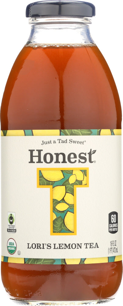Honest Tea: Lori's Lemon Tea, 16 Oz