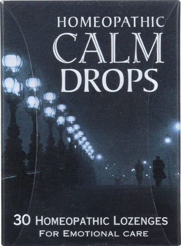 Historical Remedies: Homeopathic Calm Drops, 30 Lozenges