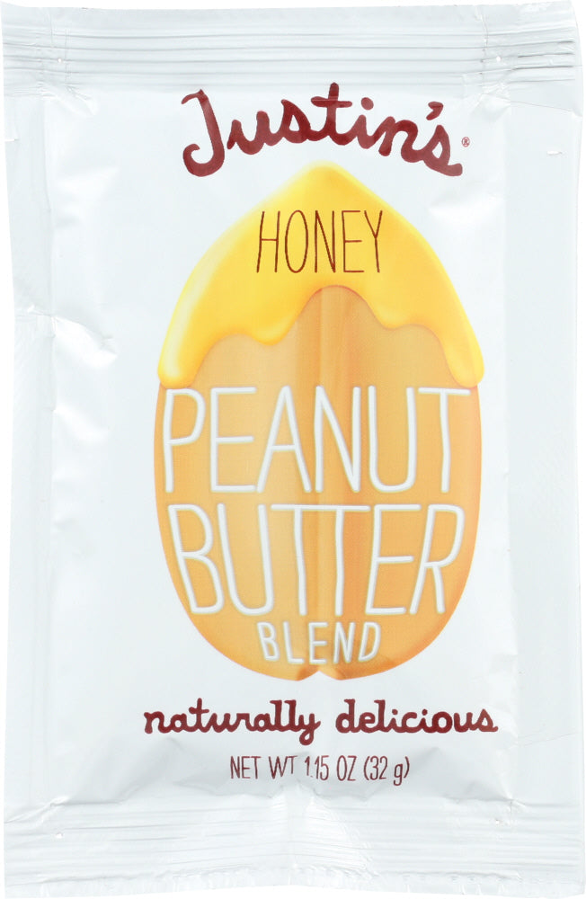 Justin's: Peanut Butter Blend Honey Squeeze Pack, 1.15 Oz