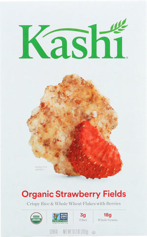 Kashi: Whole Grain Cereal Strawberry Fields, 10.3 Oz