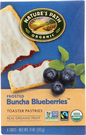 Nature's Path: Frosted Buncha Blueberries Toaster Pastries, 11 Oz