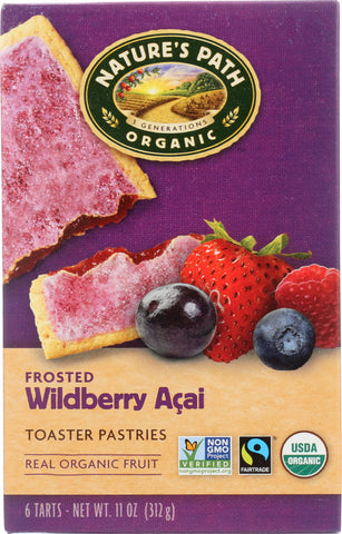 Natures Path: Organic Frosted Toaster Pastries Wildberry Acai, 11 Oz