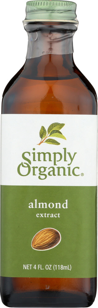 Simply Organic: Extract Almond Organic, 4 Fl Oz