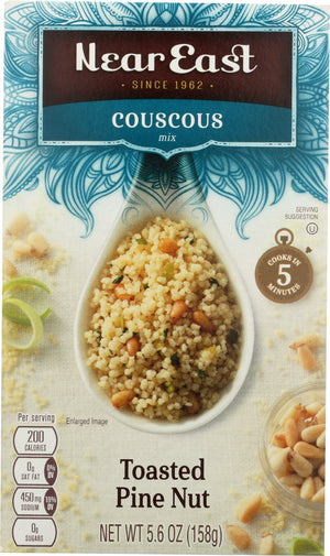 Near East: Couscous Mix Toasted Pine Nut, 5.6 Oz