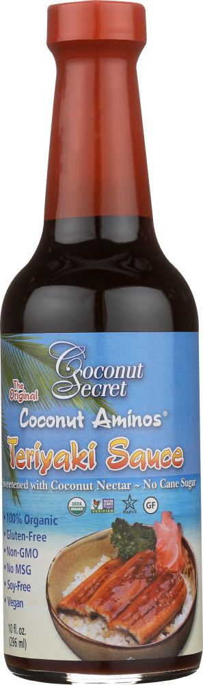 Coconut Secret: Coconut Aminos Teriyaki Sauce, 10 Oz