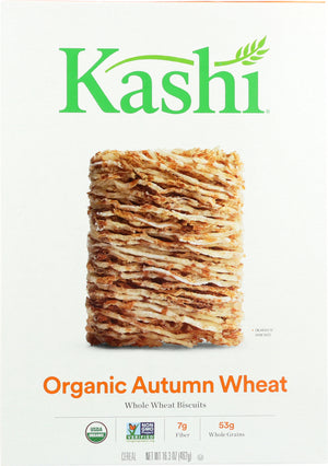 Kashi: Organic Whole Wheat Biscuit Cereal Autumn Wheat, 16.3 Oz