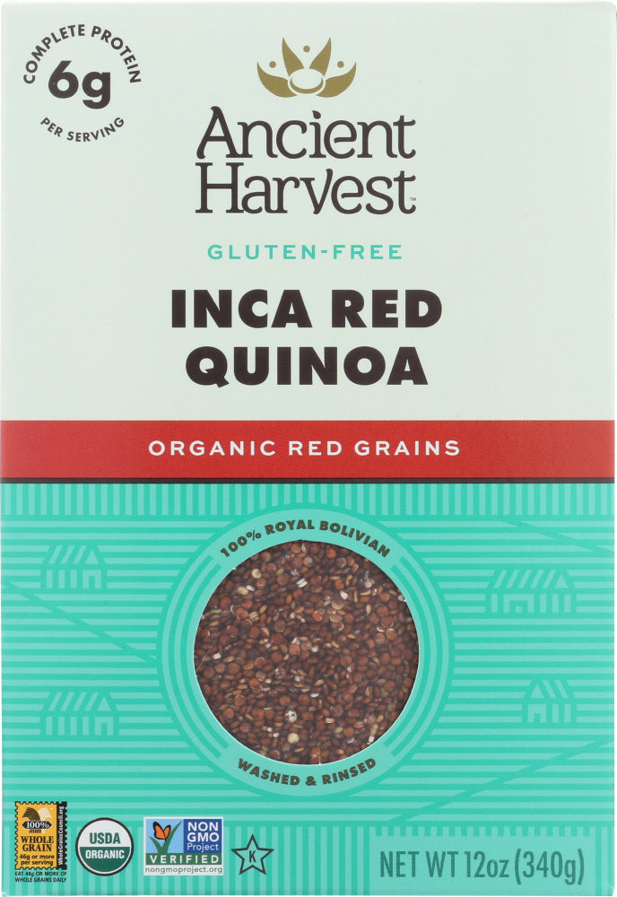 Ancient Harvest: Organic Quinoa Inca Red, 12 Oz