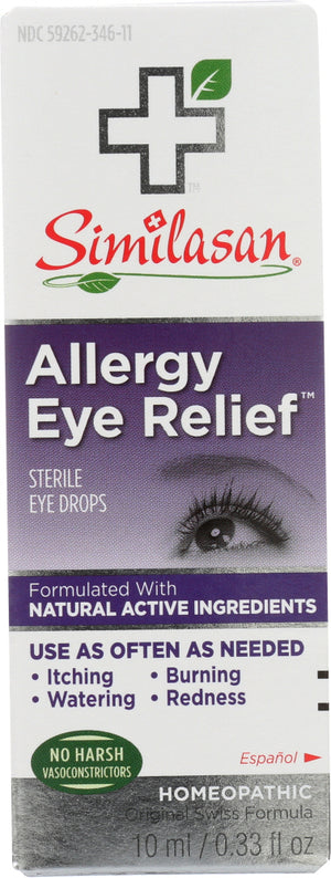 Similasan: Allergy Eye Relief Sterile Eye Drops, .33 Oz