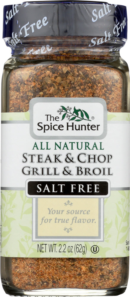 The Spice Hunter: Steak & Chop Grill & Broil Blend, 2.2 Oz