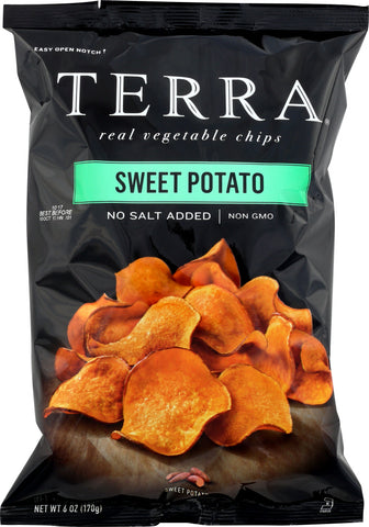 Terra Chips: Plain Sweet Potato Chips, 6 Oz