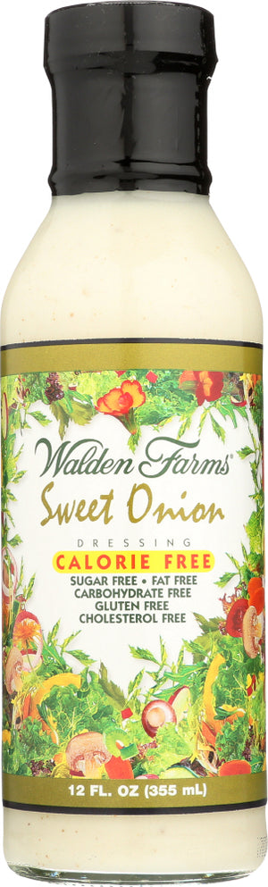 Walden Farms: Jersey Sweet Onion Dressing, 12 Oz