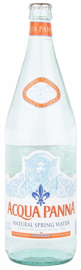 Acqua Panna: Natural Spring Water, 1 Liter