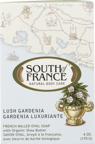 South Of France: Lush Gardenia Bar Soap, 6 Oz