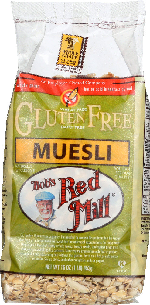 Bobs Red Mill: Gluten Free Muesli, 16 Oz