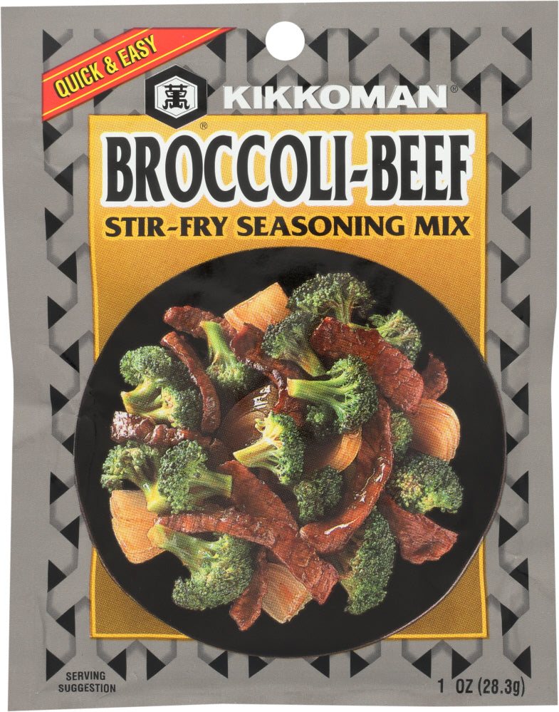 Kikkoman: Broccoli-beef Stir-fry Seasoning Mix, 1 Oz