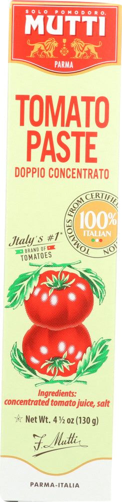 Mutti: Tomato Paste Tube, 4.5 Oz