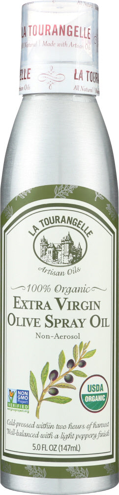 La Tourangelle: Organic Extra Virgin Olive Oil, 147 Ml
