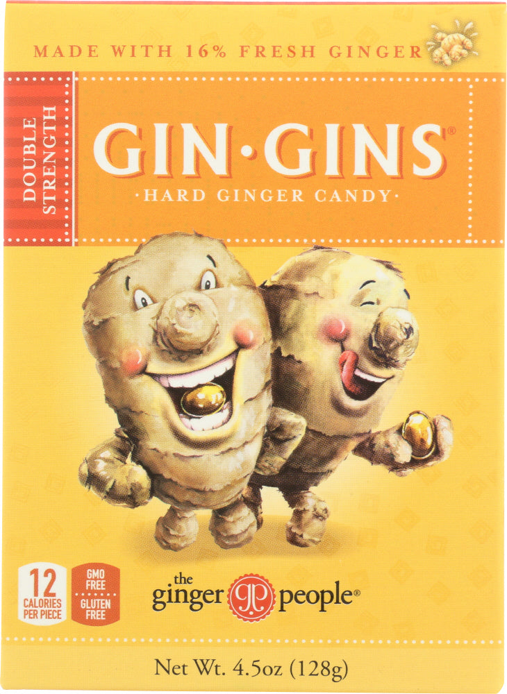 Ginger People: Hard Ginger Candy Box, 4.5 Oz