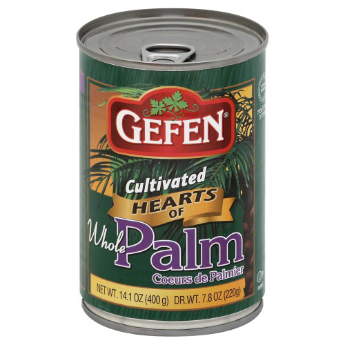 Gefen: Hearts Of Palm Whole, 14.1 Oz