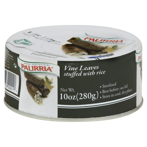 Palirria: Vine Leaves Stuffed With Rice, 10 Oz