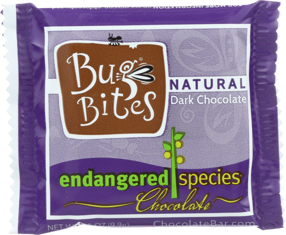 Endangered Species: Natural Chocolate Bug Bites, 0.35 Oz