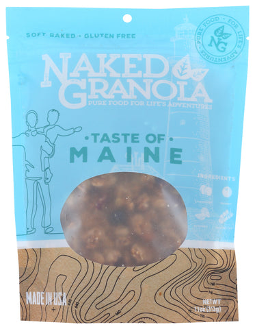 Naked Granola: Cereal Granola Taste Of Maine, 11 Oz