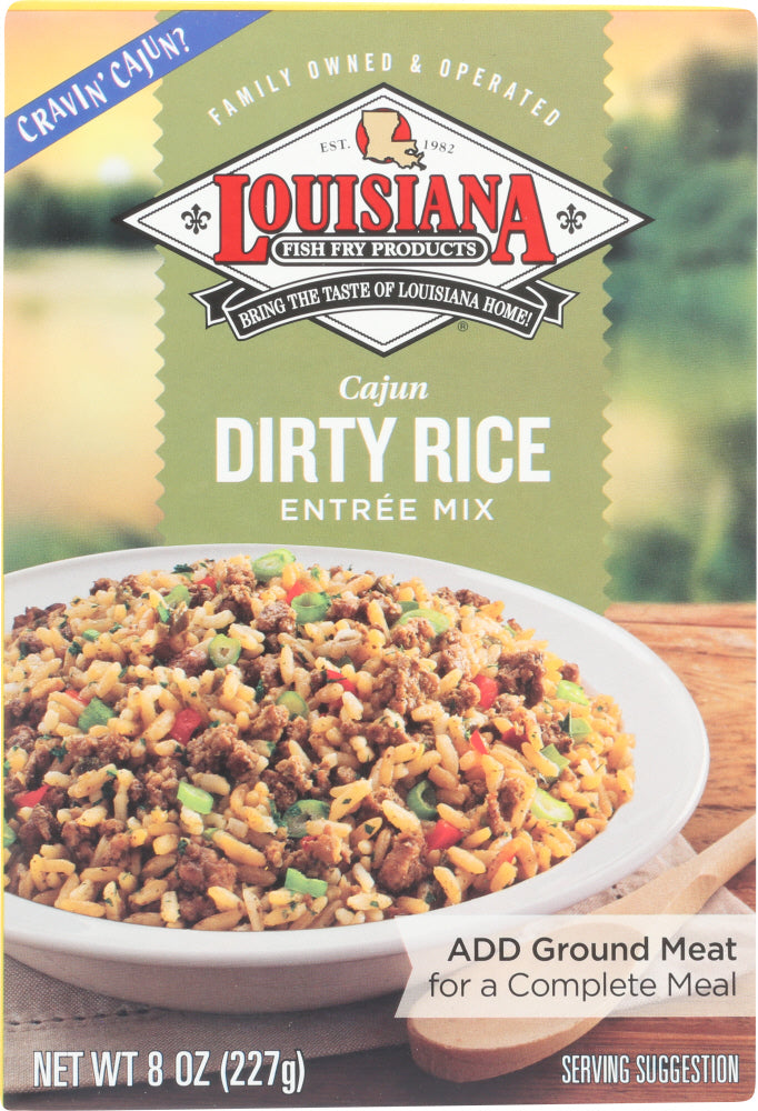 Louisiana Fish Fry: Dirty Rice Dinner Mix, 8 Oz
