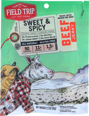 Fieldtrip: Jerky Beef Honey Spice #11, 2.2 Oz