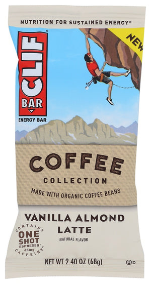 Clif Bar: Vanilla Almond Latte Energy Bar, 2.40 Oz