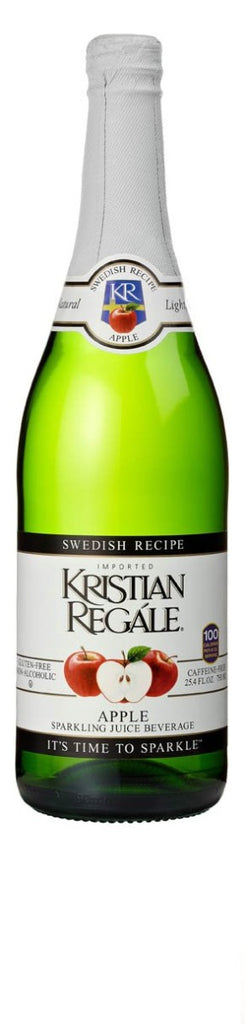 Kristian Regale: Apple Sparkling Juice Beverage, 25.4 Fl Oz
