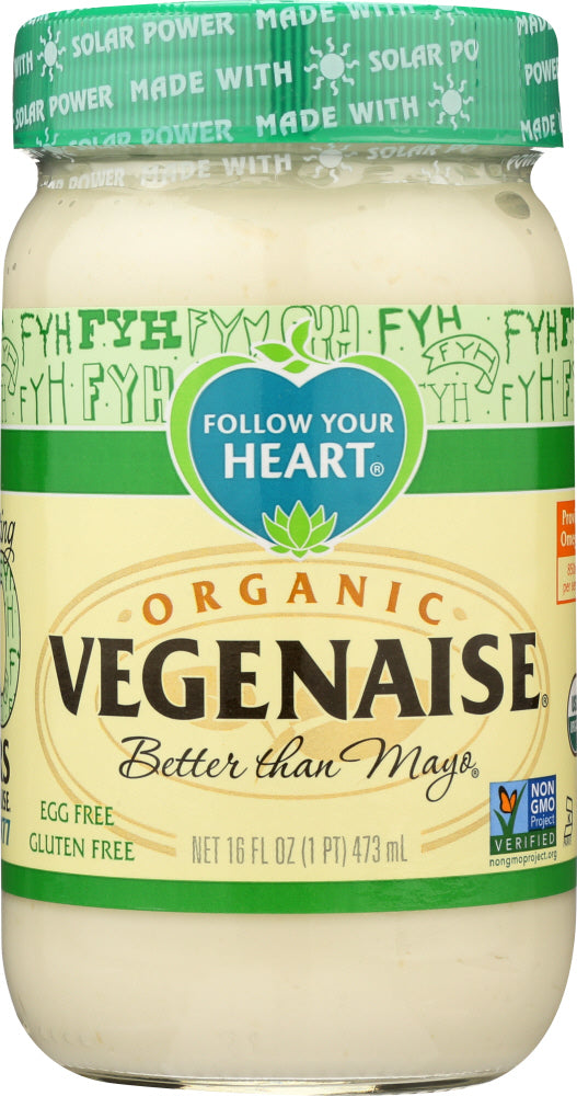 Follow Your Heart: Organic Vegenaise, 16 Oz