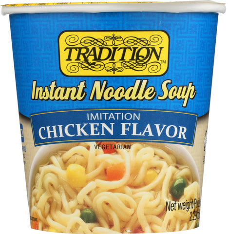 Tradition: Soup Cup Noodle Chicken, 2.29 Oz