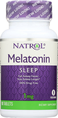 Natrol: Melatonin 1 Mg, 90 Tb
