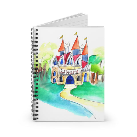 Castle Library Notebook