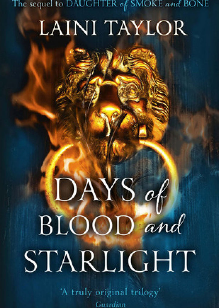 Days Of Blood And Starlight: Daughter Of Smoke And Bone Trilogy (book 2)