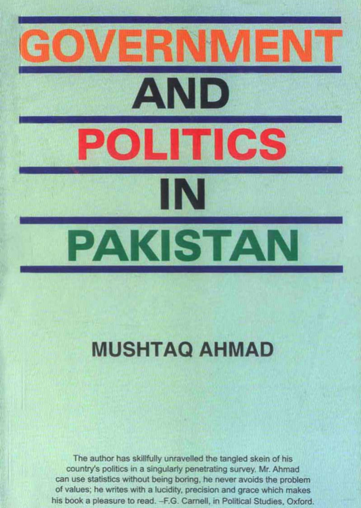 Government And Politics In Pakistan
