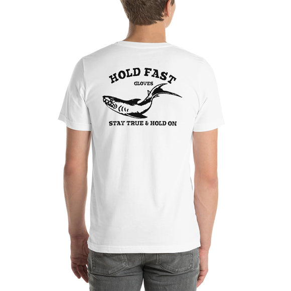 HOLD FAST Gloves short sleeve Shark t-shirt