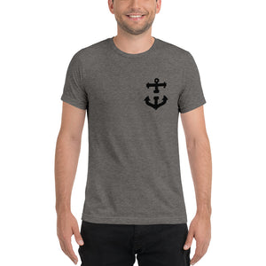 HOLD FAST Short sleeve t-shirt -Ship Black