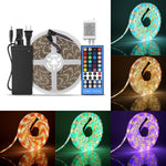 SUPERNIGHT 16.4ft 5050 300Leds RGB+Warm White LED Strip Light, Flexible RGBWW Waterproof LED Strip Lighting Kit With5M RGBWW LED Strip + 40Key RGBWW Remote Controller + 12V 5A Power Supply
