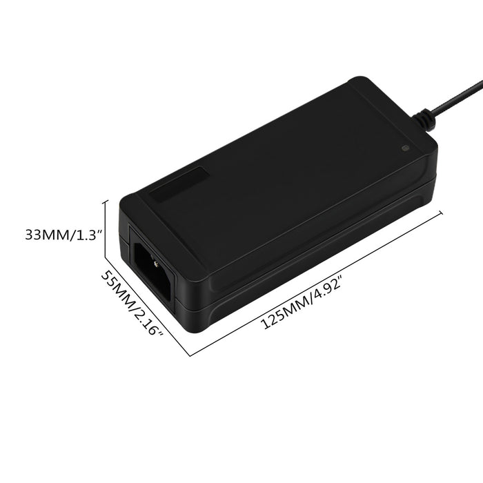 SUPERNIGHT 100V - 240V To DC 12V 5A Switching Power Supply Adapter For LED strip Light