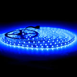 SUPERNIGHT 16.4Ft RGB 5050 SMD 300LEDs Strip Lights Non-waterproof, with Black PCB ( Single Light Strip Only )