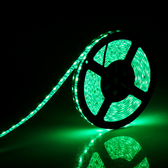 SUPERNIGHT Green LED Strip Light, 16.4ft 5050 SMD 300led Rope Lights, IP65 Waterproof Lighting