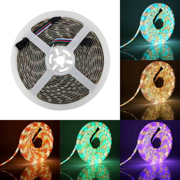 SUPERNIGHT Waterproof RGBW LED Strip Light RGB Color Changing Rope Lighting with Warm White 3500K Color 16.4ft 300leds 5050 Tape Light (RGB + Warm White)