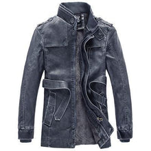 Load image into Gallery viewer, Casual Men's PU Leather Jackets