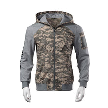 Load image into Gallery viewer, New Men Outdoor hooded Camouflage Sweatshirt