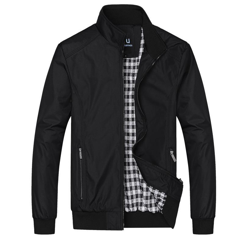 Spring And Autumn Business Men's Wear Jacket Casual Large Size in Loose Stype