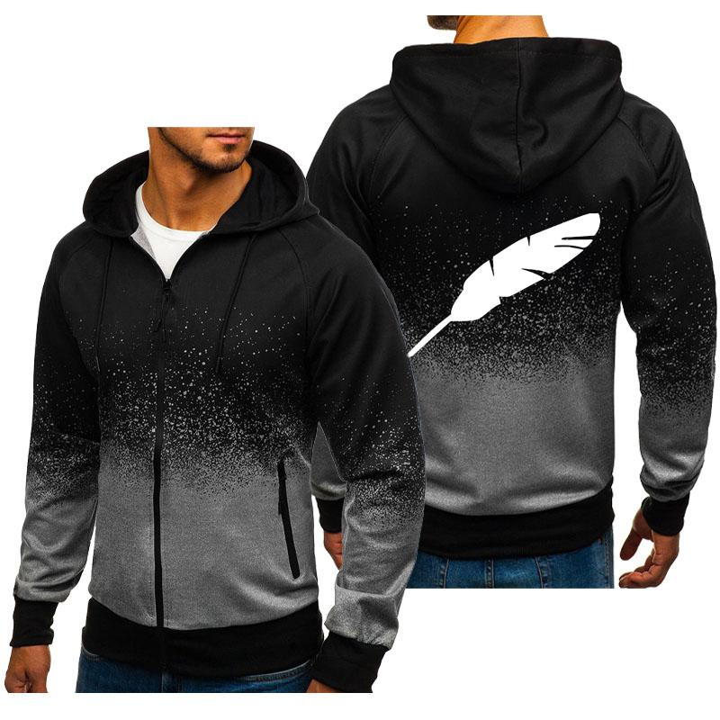 Men's Spring and Autumn Casual Hoodies