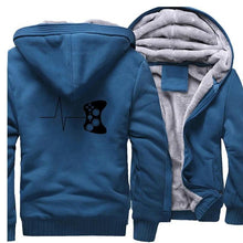 Load image into Gallery viewer, Men's Video Game Cartoon Pattern Zipper Fleece Hoodies